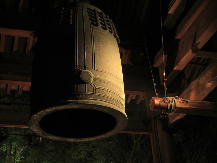 Tokyo's top ten New Year's Eve bells