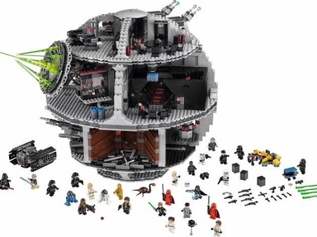 Christmas kids, LEGO Death Star