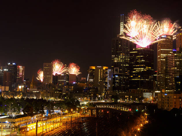 New Year's Eve at the City of Melbourne