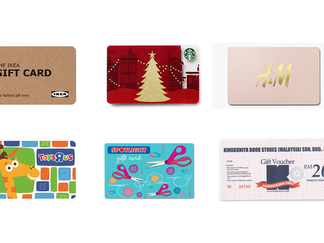 Christmas gift guide: Gift cards