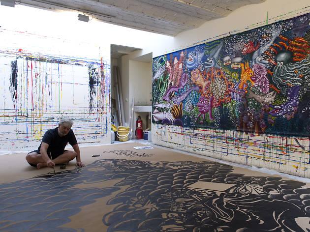 Rencontre à la Maison Rouge avec Hervé Di Rosa, art-trotteur et accumulateur fantastique