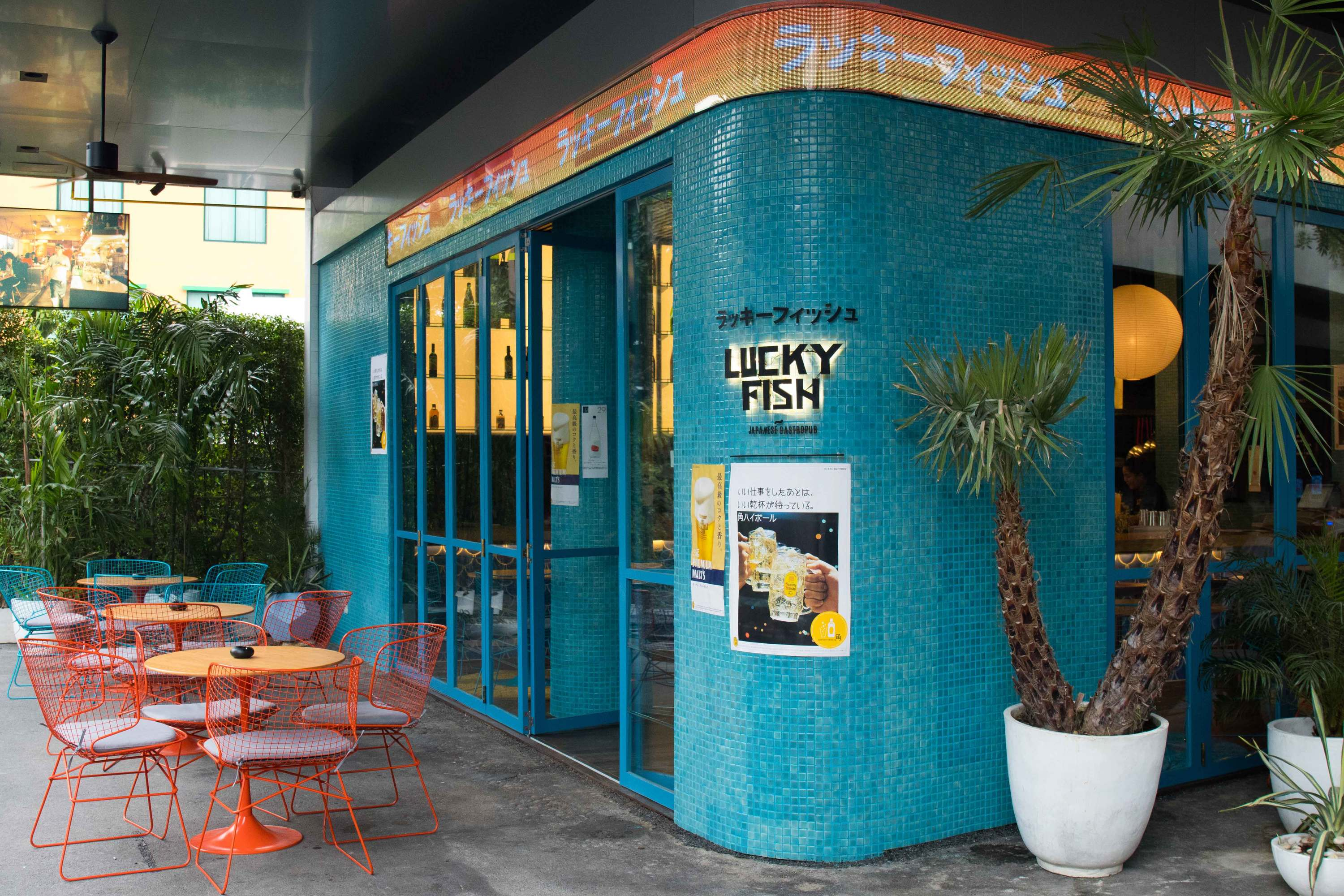 Lucky Fish, modern izakaya in 72 Courtyard, Thonglor