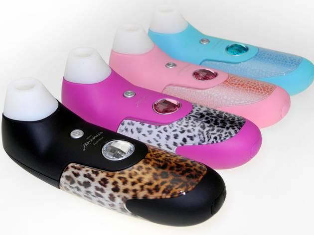 Womanizer's Black Leopard stimulator