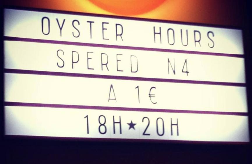 Où manger des huîtres à 1 € ?