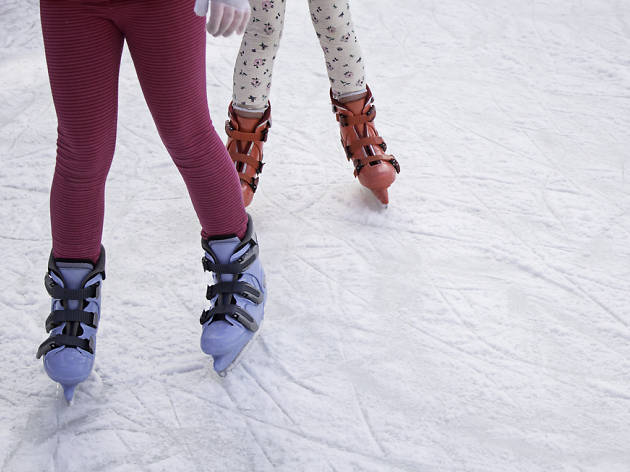 Patinaje hielo