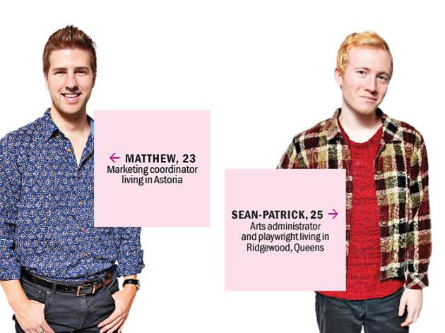 Matthew and Sean-Patrick