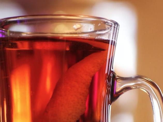 Hot Tea at Bar DeVille