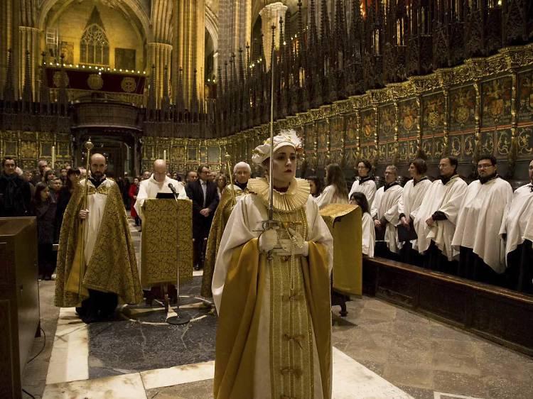 Escoltar el Cant de la Sibil·la a Santa Maria del Mar