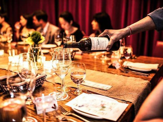 3 Course brunch & wine pairing class at City Winery