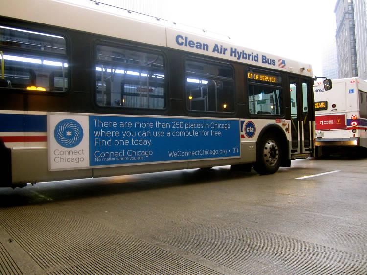 CTA buses