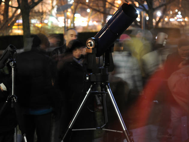 Winter Skies Telescope Party