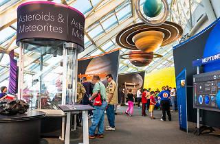 Adler planetarium, solar system