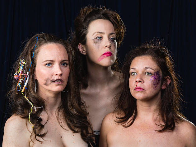 Ich Nibber Dibber 2017 Sydney Festival hero image feat post members Zoe Coombs Marr Mish Grigor and Nat Rose photographer credit Document Photography