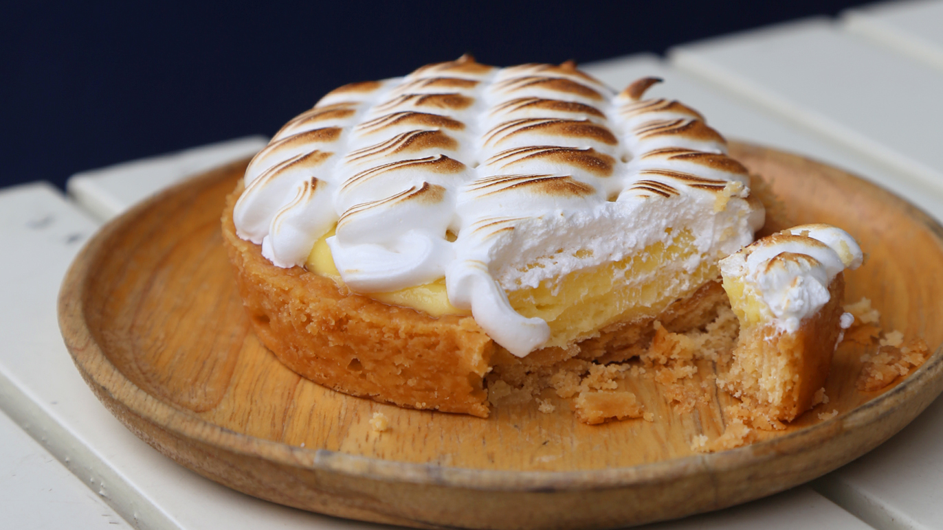 Rubberduck lemon tart