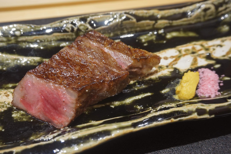 Ginza Tenkuni grilled Wagyu