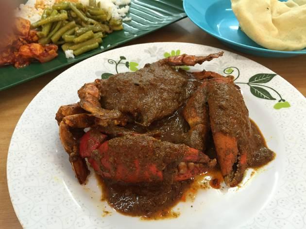 Restoran Yarl Sri Lankan crab curry