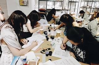 KLigraphy pointed pen calligraphy workshop
