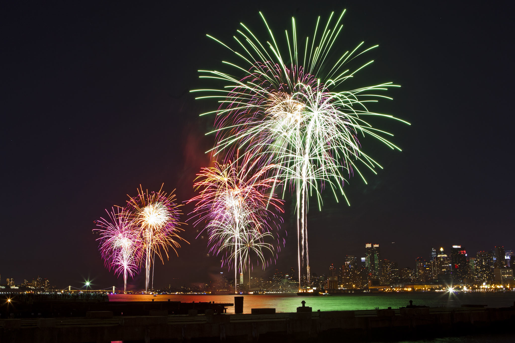 New Year's Eve Fireworks Cruise on Manhattan II