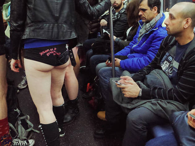 Here are all the chances you have to take your pants off in public this winter