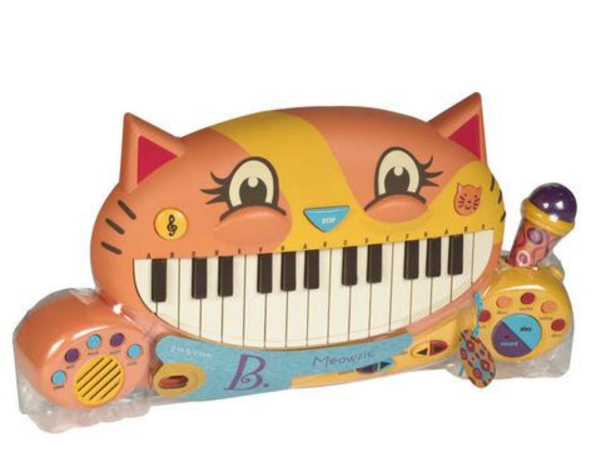 Teclado musical meow
