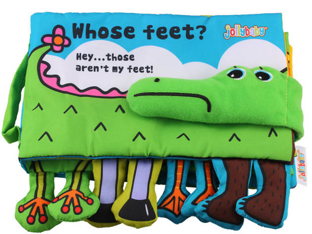 Soft Activity Book-Whose feet?