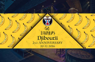 Djiboutii Second Anniversary Party - Go Bananas!