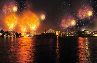 New Year's Eve at Pirrama Park Wharf