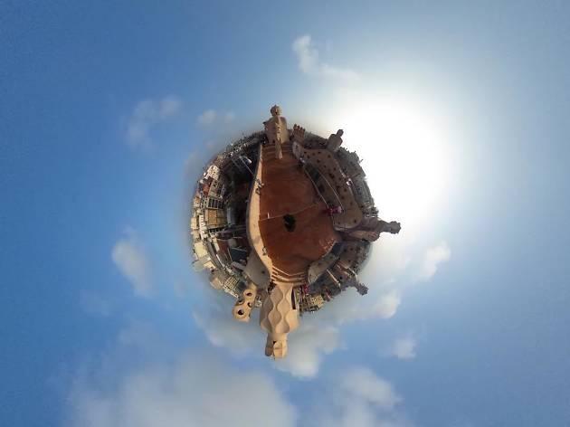 10 llocs emblemàtics de Barcelona en fotografies de 360°