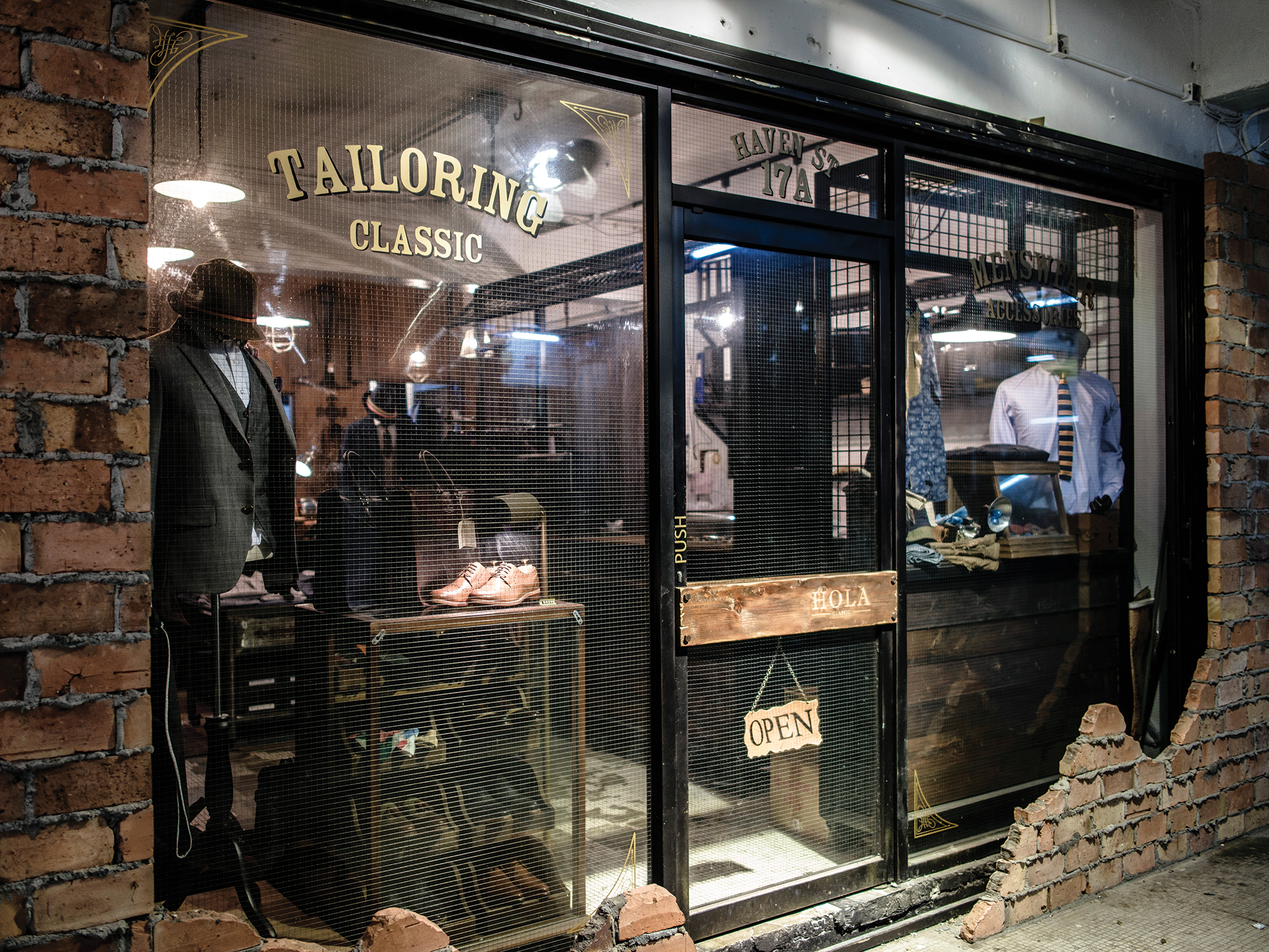 Hola Classic men's tailoring