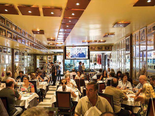 Restaurante, Solar dos Presuntos, Sala