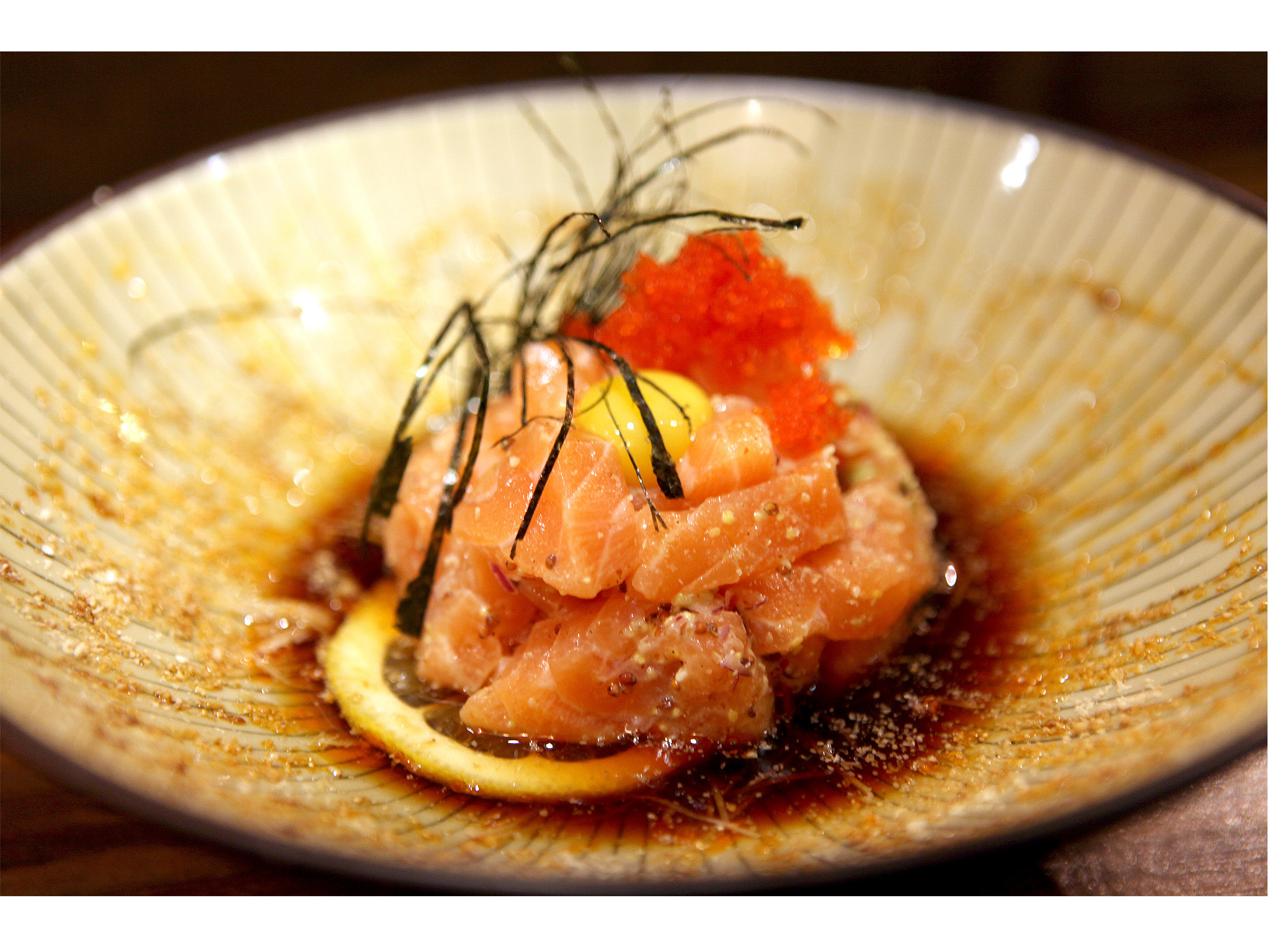 Hikidashi - Prato Salmão
