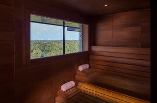 Four seasons spa sauna