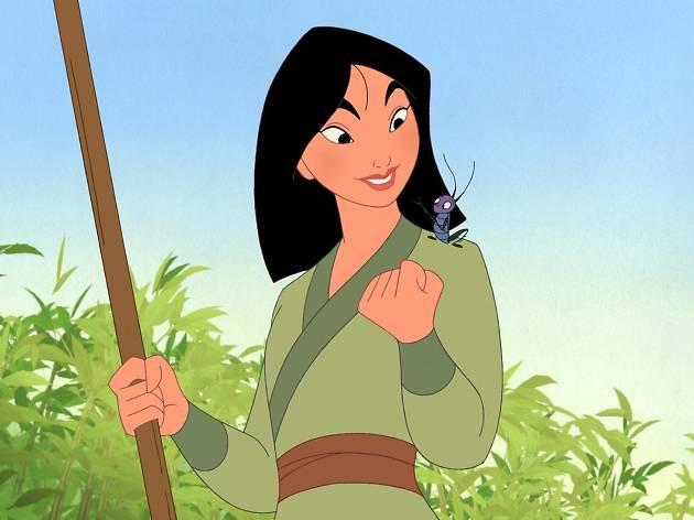 La película de Mulan de Disney