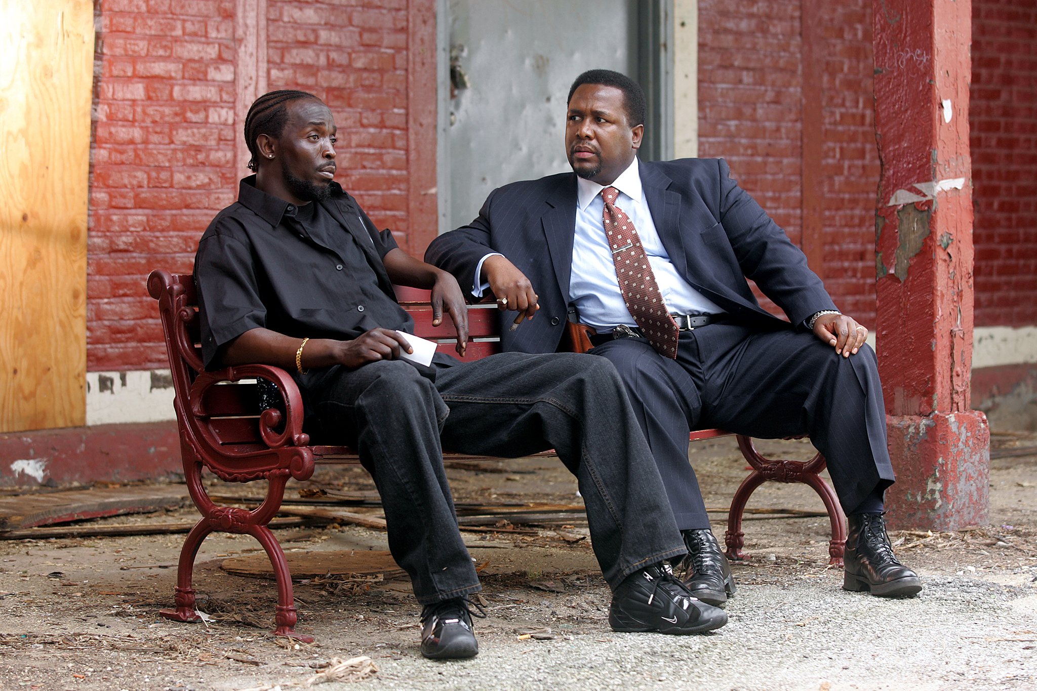 The Wire, HBO, 2002–2008