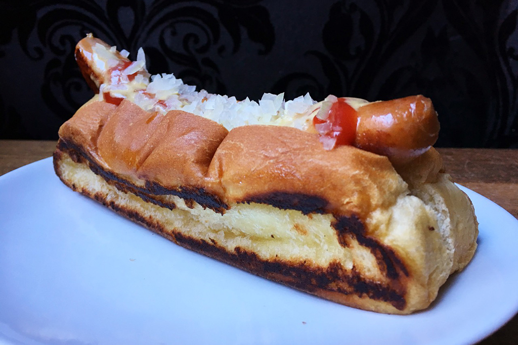 The Haute Dog at Red Apron Butchery