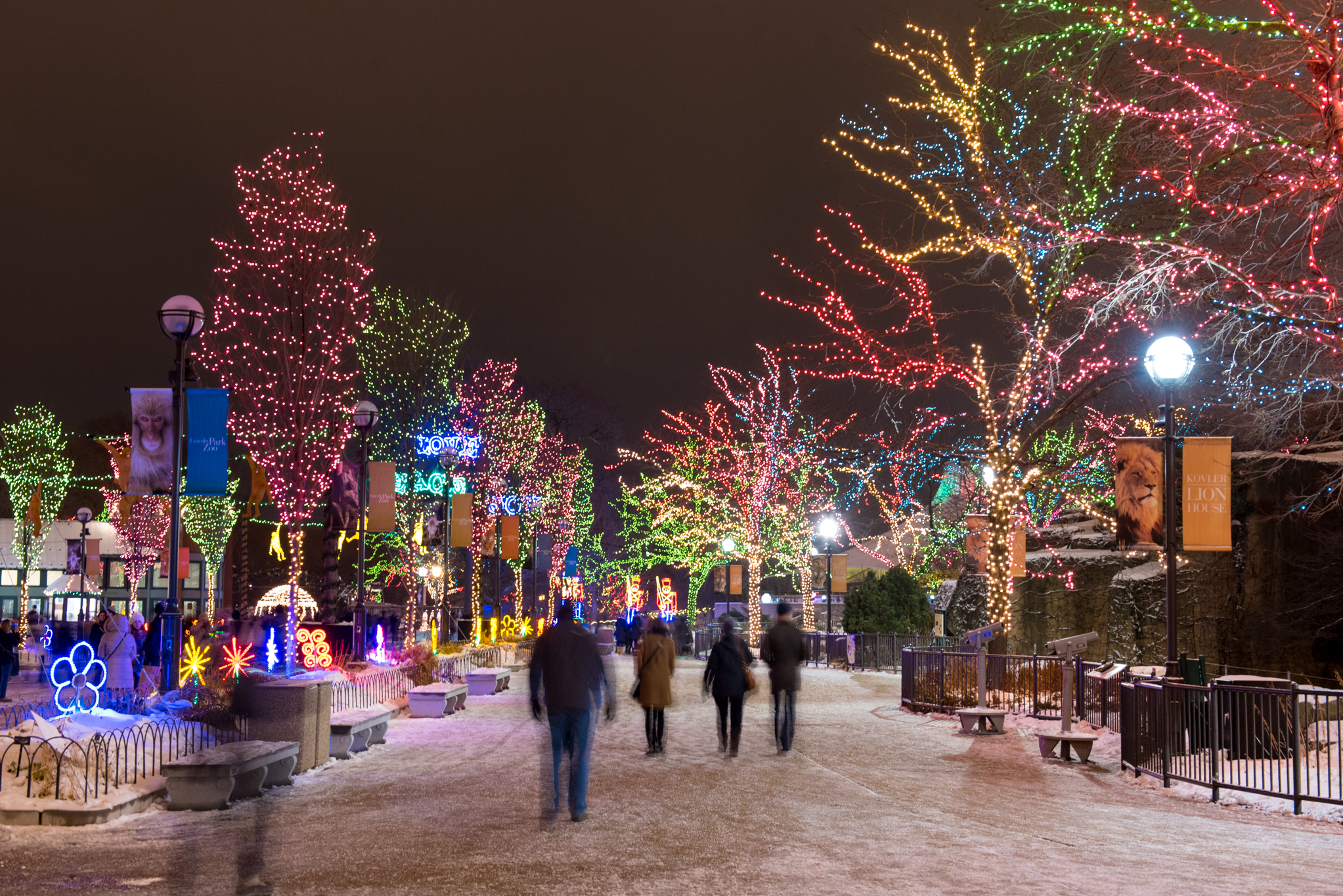 ZooLights will still illuminate Lincoln Park this year, but you'll have to pay admission to get in
