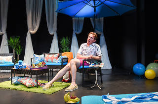 Theater review: Drew Droege sketches gay culture clash in Bright Colors and Bold Patterns