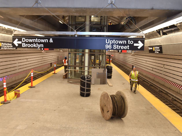 The Second Avenue Subway is officially set to open on January 1