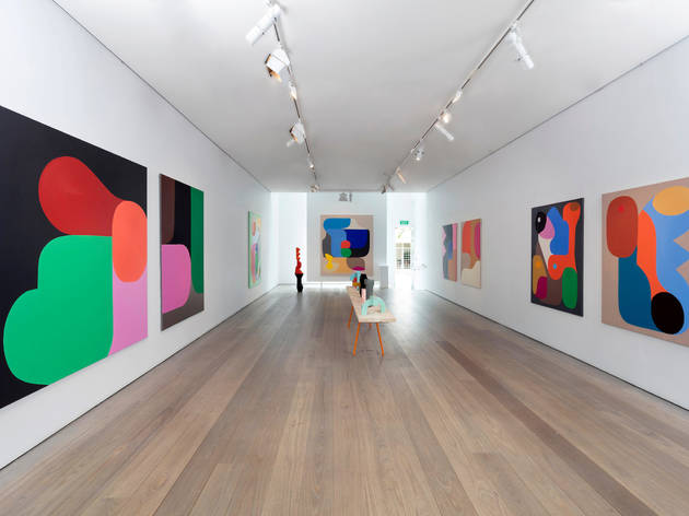 Olsen Gallery 2016 interior December installation view 01 Ideography exhibition by Stephen Ormandy photographer credit Paul Green