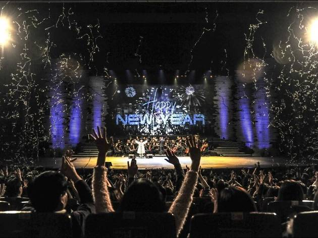 Countdown concerts for the New Year's Eve