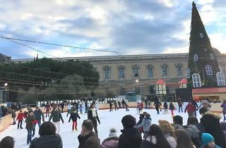 Pista de hielo Plaza de Colón