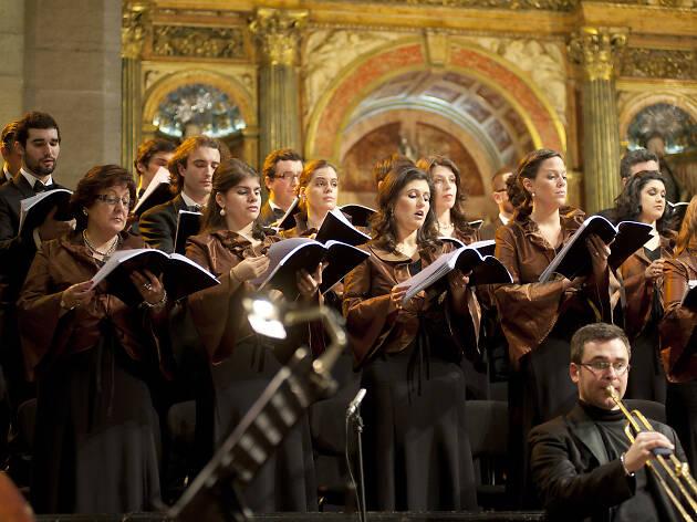 Coro Gulbenkian, Te deum na igreja de s roque
