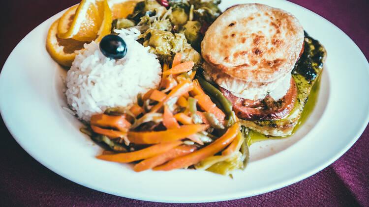 Os Tibetanos - Bife de Tofu