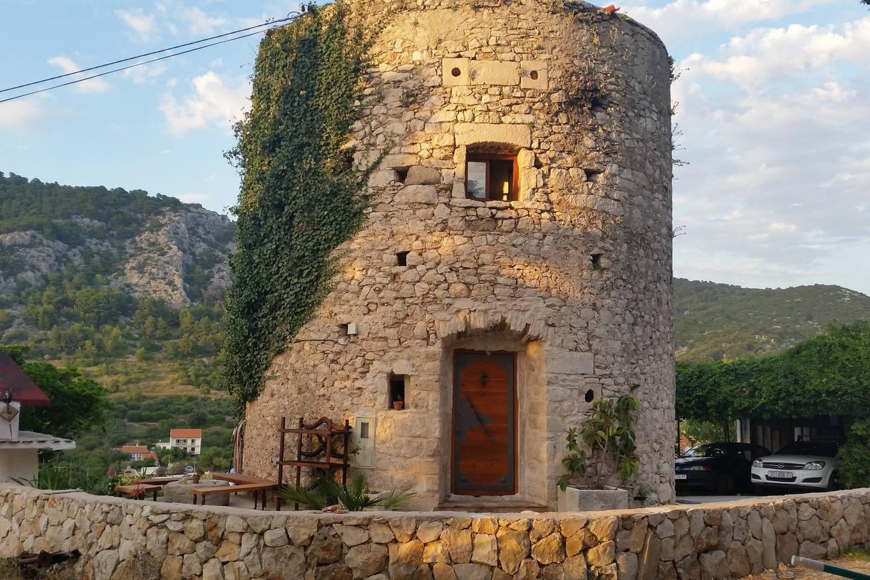 The 18th-century tower on Hvar