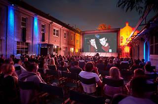 Shadow Electric outdoor cinema