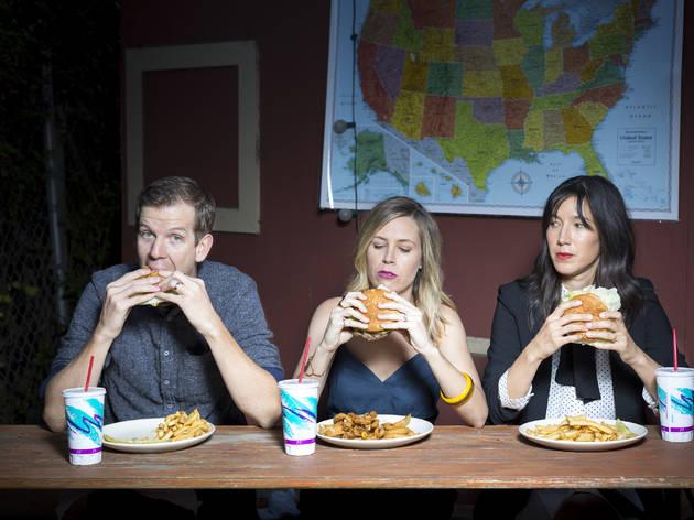 Mary Grill, Matt Hobby and Cass Bugge