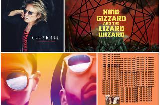 Top disques de 2016 meilleurs albums PNL Christophe King Gizzard Christophe Kanye West
