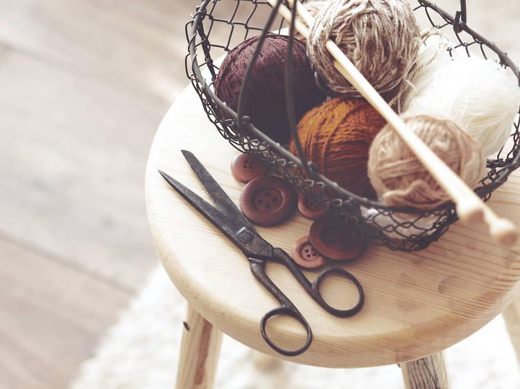 Tricoter pendant de longues heures