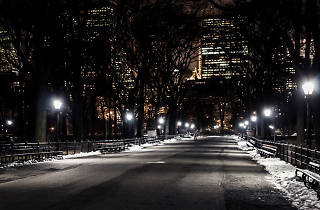 Someone left the lights on 24/7 in Central Park for the last six months