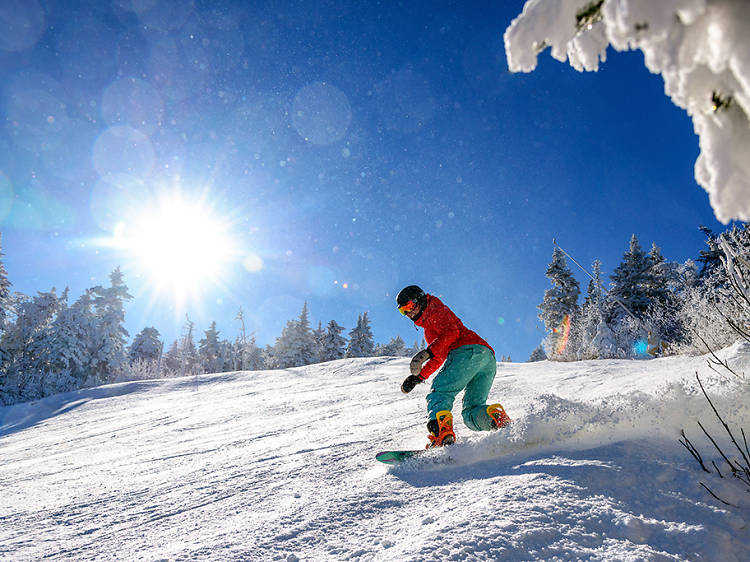 The best snowboarding spots in the USA